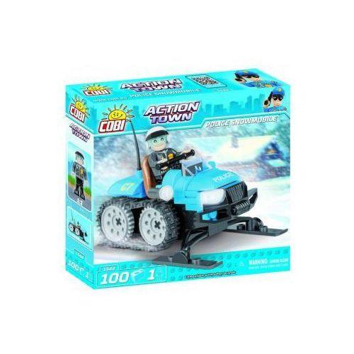 Klocki action town police snowmobile 100 kl. Darmowy odbiór w niemal 100 księgarniach!