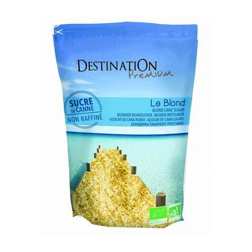 Destination Cukier trzcinowy jasny nierafinowany 1kg - bio eko (3700110074218)