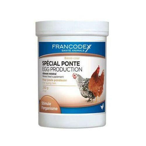 FRANCODEX Egg Production Preparat Wspomagający Kury Nioski 250g - DARMOWA DOSTAWA OD 95 ZŁ!