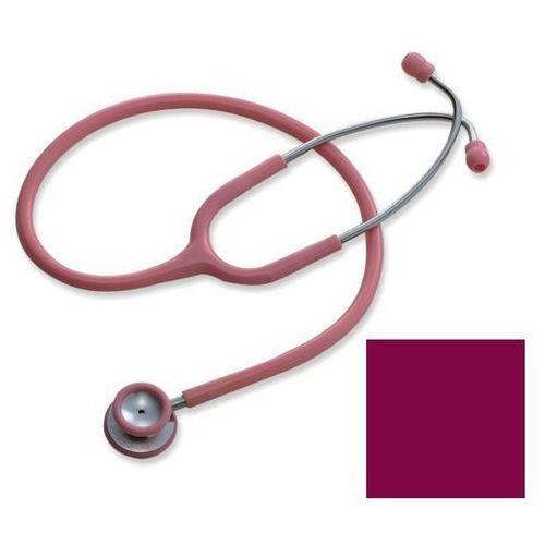 Stetoskop pediatryczny deluxe s606pf - burgundowy marki Spirit