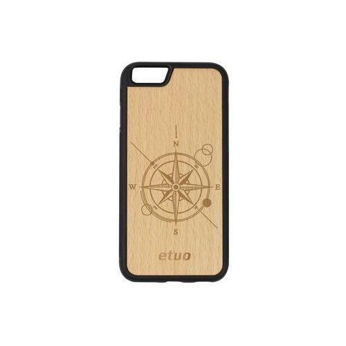 Etuo wood case Apple iphone 6s - etui na telefon wood case - buk - kompas