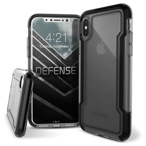 X-Doria Defense Clear - Etui iPhone X (Black) (6950941460798)