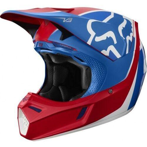 Kask off road fox v-3 kila blue/red marki Fox_sale