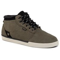 Sneakersy ETNIES - Jefferson Mid 4101000398 Olive/Black 302