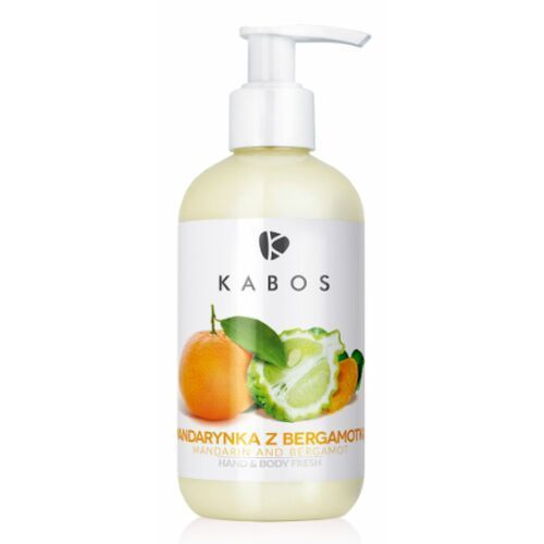 Kabos hand & body fresh mandarin and bergamot orzeźwiający balsam do dłoni i ciała (mandarynka z bergamotką)