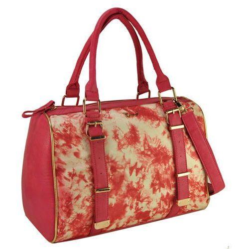 Wielka brytania Różowa torba damska z kolorowym nadrukiem fitness - różowy ||wielobarwny