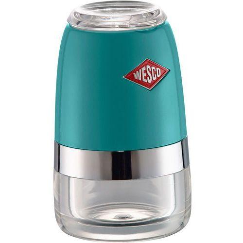 Wesco Młynek do przypraw, soli i pieprzu turkusowy crushgrind (322775-54) (4004519060148)