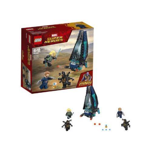 Lego SUPER HEROES Atak statku outriderów outrider dropship attack 76101. Najniższe ceny, najlepsze promocje w sklepach, opinie.