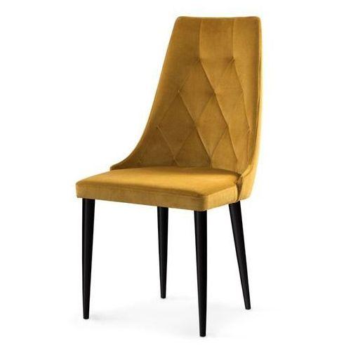 Hliving Nowoczesne krzesło carmen ii velvet