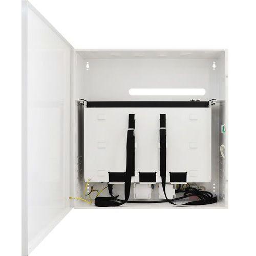 Switch 16-portowy SF116-CR do 16 kamer IP w obudowie z miejscem na rejestrator, SF116-CR