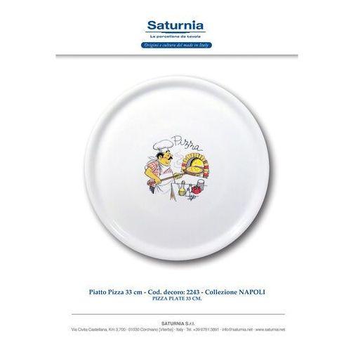 Hendi Talerz do pizzy Speciale porcelanowy dekorowany 330 mm - kod Product ID