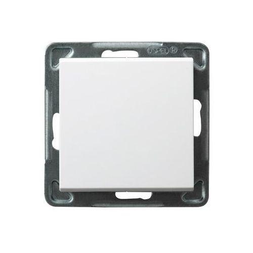 Łącznik jednobiegunowy Biały - ŁP-1R/m/00 Sonata