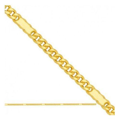 Łańcuszek złoty pr. 585 - lp013 marki Rodium