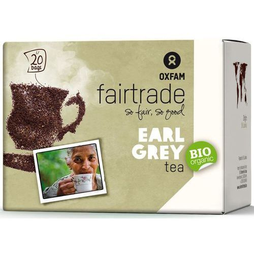 Oxfam fair trade (ft) (kawy i inne produkty ft) Herbata ekspresowa earl grey fair trade bio (20 x 1,8 g) - oxfam (5400164135054)