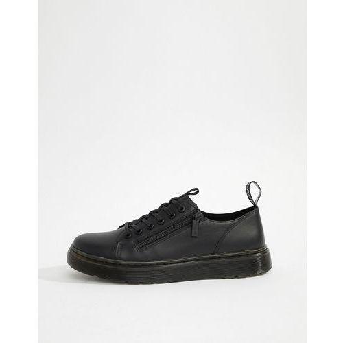 Dr Martens Dante zip 6-eye zip shoes in black - Black