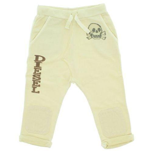 Diesel Spodnie dresowe dziecięce Beżowy XXL