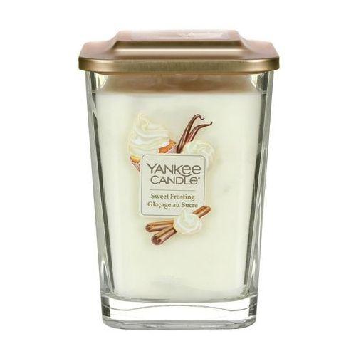 Yankee candle - świeca kwadratowa duża sweet frosting (5038581050096)