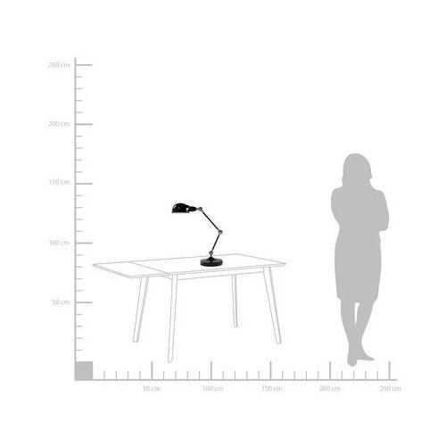 Lampa biurkowa regulowana metalowa czarna CABRIS (4260580926121)