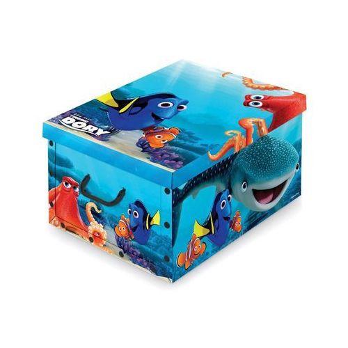 Domopak Living Pudełko do przechowywania z uchwytem Disney Dory, 39 x 50 x 24 cm