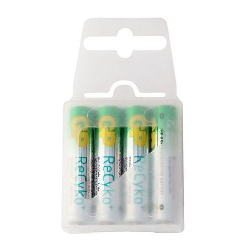 4 x akumulatorki GP ReCyko+ R03 AAA 800mAh, ReCyko800-4BOX