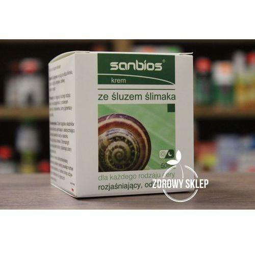 SANBIOS Krem ze śluzem ślimaka 50ml, 21SANKRESL
