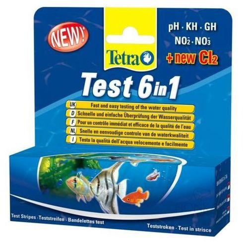 test 6 w 1 zestaw testów paskowych do wody marki Tetra