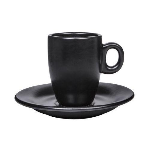 Black red white Filiżanka do espresso magma