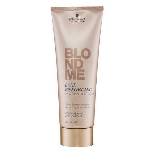 Schwarzkopf Professional Blondme krem rozjaśniający bez amoniaku do włosów blond (Bond Enforcing Paint-On-Lightener) 250 ml