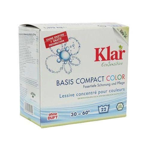 Klar 1,375kg color proszek do prania ecosensitive (22 prania)