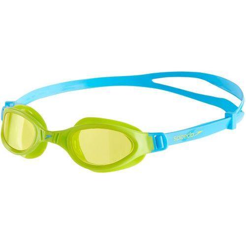 speedo Futura Plus Okulary pływackie Dzieci zielony/turkusowy 2018 Okulary do pływania (5053744279053)