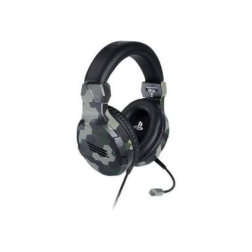 Big ben Zestaw słuchawkowy v3 camo green gaming headset (3499550381443)