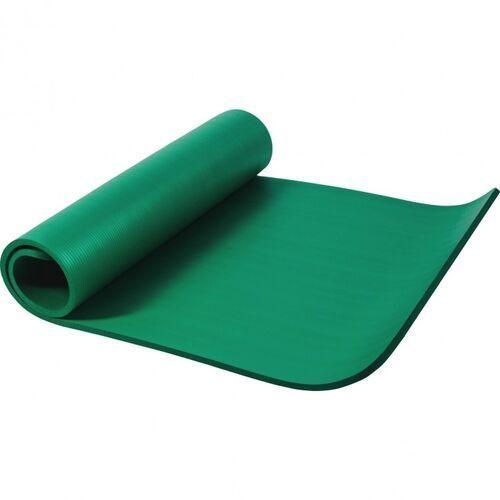 Mata do ćwiczeń fitness jogi duża 190x100x1,5cm antypoślizgowa zielona