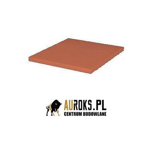 Płytka podłogowa klinkierowa kolor rubinowa czerwień 245x245x14 mm marki Klinkier przysucha