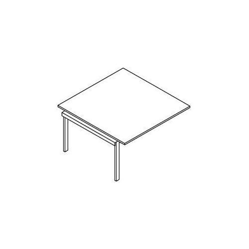 Element do rozbudowy stołów konferencyjnych - BSA113 wymiary: 137x140x75,8 cm