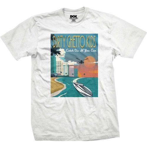 Koszulka - go fast white (white) rozmiar: l marki Dgk
