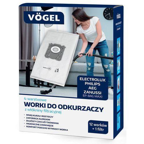 Worek do odkurzacza ep-bag maxi (12 sztuk) marki Vögel