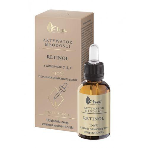 Ava aktywatory młodości - retinol z witaminami c, e, f marki Ava laboratorium kosmetyczne