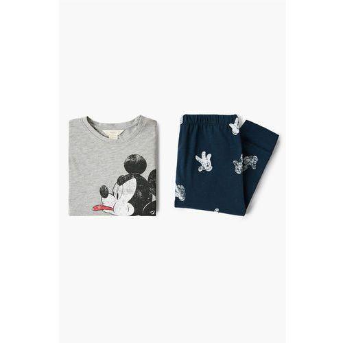Mango kids - piżama dziecięca mickey 104-164 cm