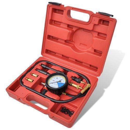 vidaXL Miernik ciśnienia paliwa, tester diesel i benzyna