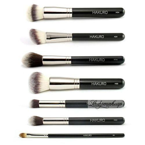 - zestaw 7 pędzli do makijażu twarzy - zaawansowany marki Hakuro - OKAZJE