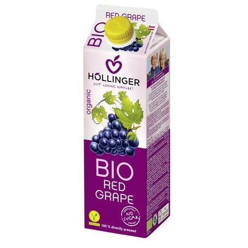 Hollinger Sok z czerwonych winogron 100% bez cukru 1l - (9120008990118)