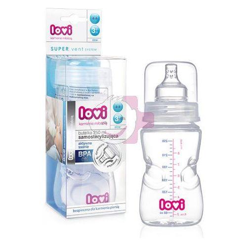Butelka CANPOL 21/571 Lovi samosterylizująca 250 ml - produkt z kategorii- Butelki dla dzieci