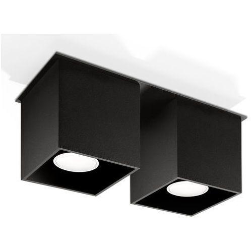 Sollux Oprawa sufitowa quad 2 czarny sl.0063 - - rabat w koszyku (5902622425214)