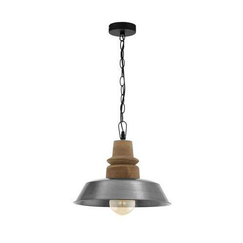 Eglo 33024 - żyrandol na łańcuchu riddlecombe 1xe27/60w/230v (9002759330248)