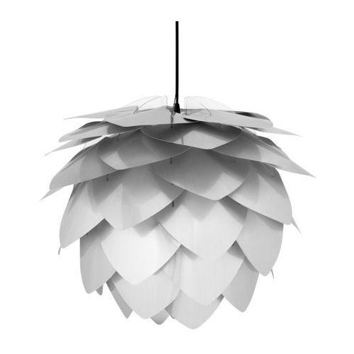 Lampa sufitowa z oprawą - srebrna - ANDELLE