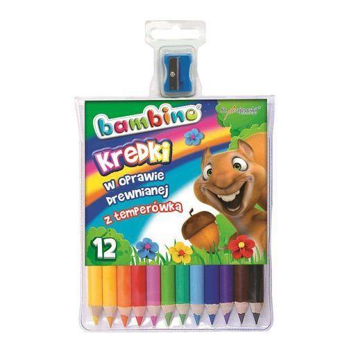 Kredki 12 kolorów Bambino, 10273