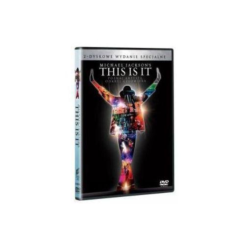 Imperial cinepix Michael jackson's. this is it (2dvd - czarne) (dvd) - kenny ortega darmowa dostawa kiosk ruchu (5903570141225)