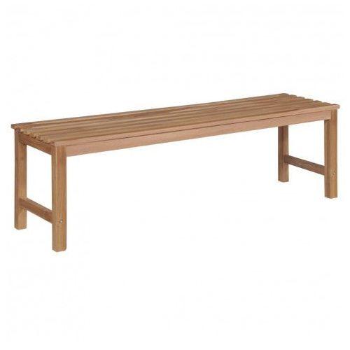 Minimalistyczna ławka ogrodowa drewniana Berta, vidaxl_44994