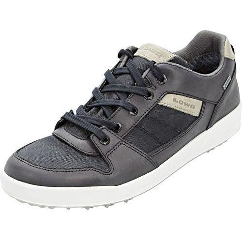 seattle gtx buty mężczyźni czarny 42 2018 buty codzienne marki Lowa
