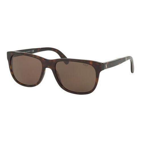 Okulary słoneczne ph4116 tartan 500373 marki Polo ralph lauren